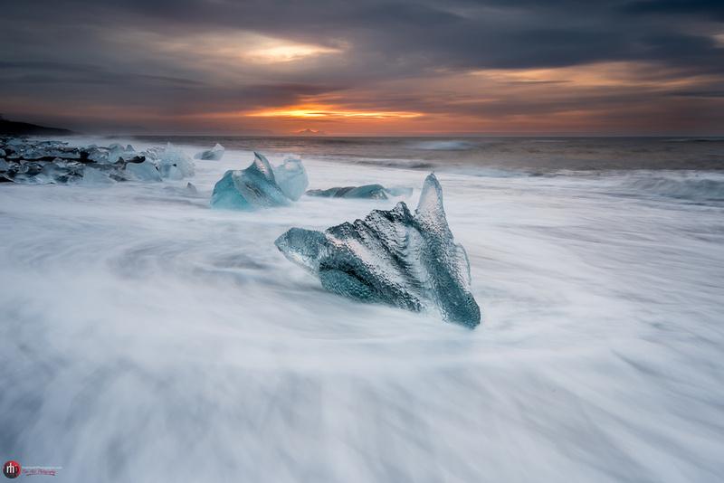 Ice beach, Jokulsarlon