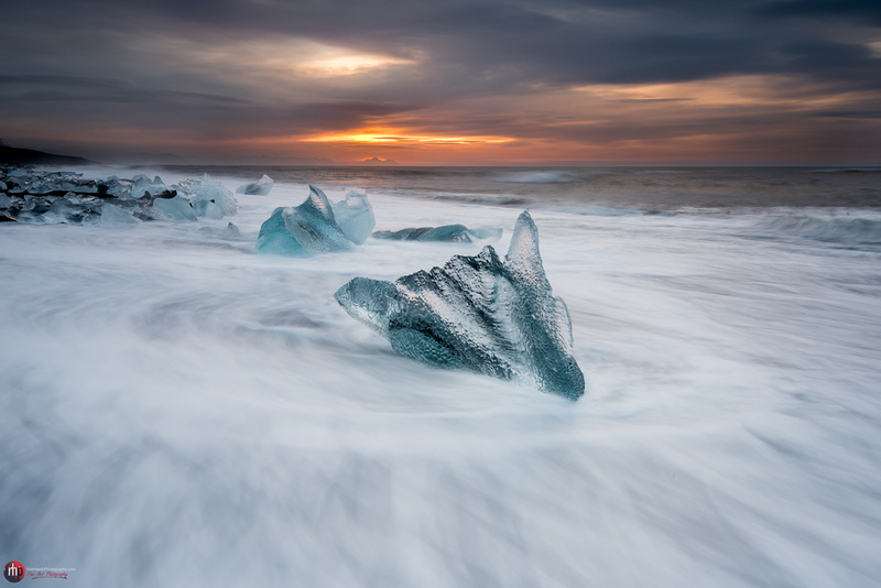 Ice beach, Jokulsarlon